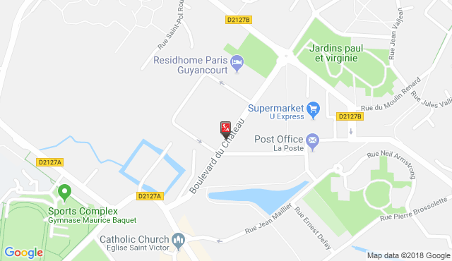Location and Directions, Residhome Paris-Guyancourt Residence in ...